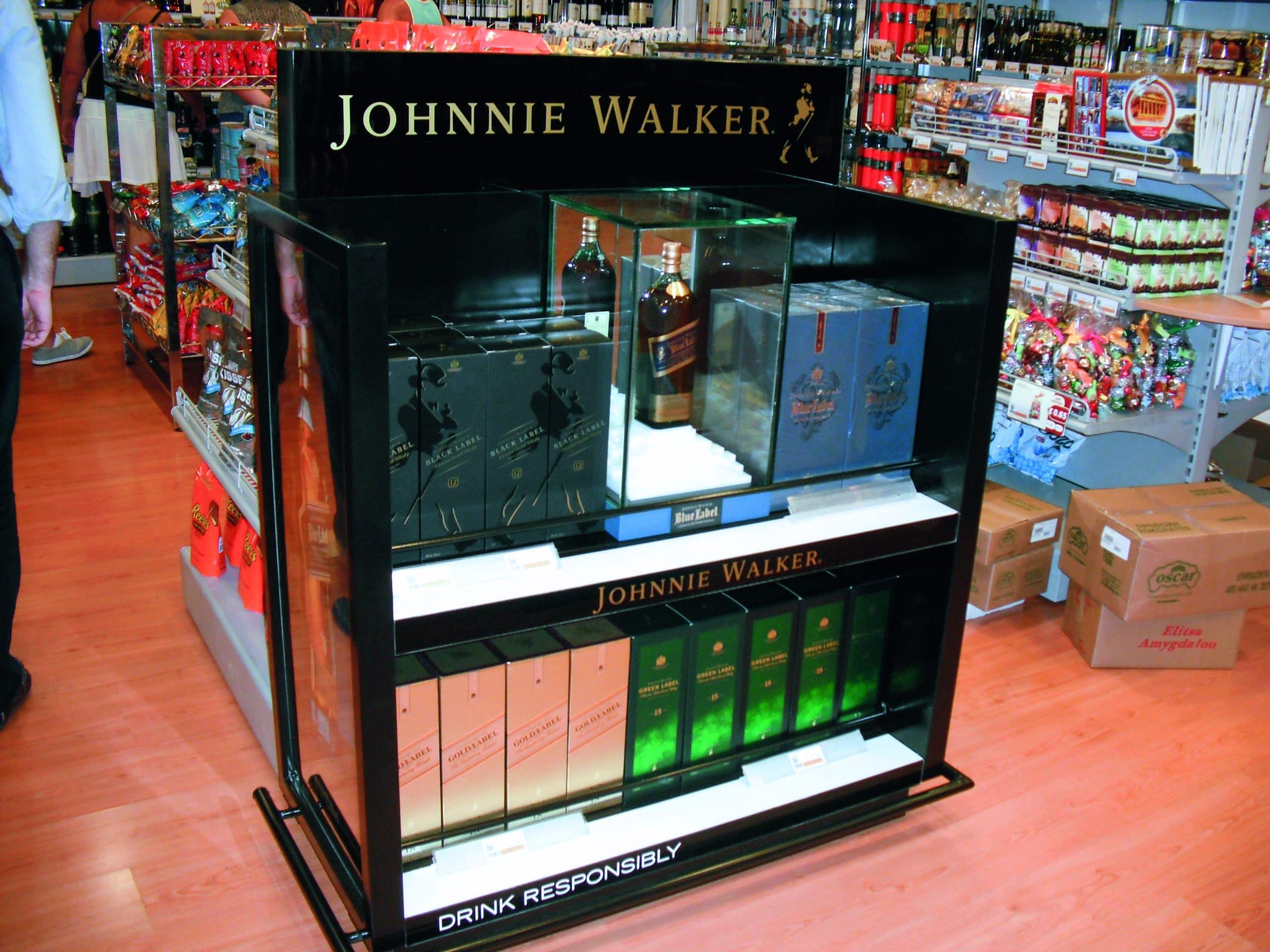 STAND JOHNNIE WALKER